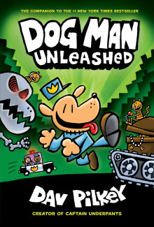 The Adventures of Dog Man: Unleashed av Dav Pilkey (Innbundet)