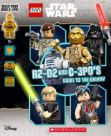 Omslag - LEGO Star Wars: R2-D2 and C-3p0's Guide to the Galaxy