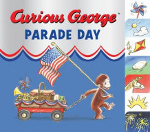 Curious George Parade Day: Tabbed Board Book av H.A Rey (Pappbok)