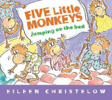 Five Little Monkeys Jumping on the Bed av Eileen Christelow (Pappbok)
