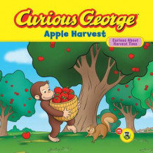 Curious George Apple Harvest av H. A. Rey (Innbundet)