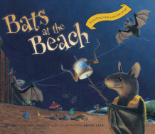 Bats at the Beach av Brian Lies (Pappbok)