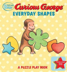 Curious Baby Everyday Shapes Puzzle Book: A Puzzle Play Book av Margret Rey og H. A. Rey (Pappbok)