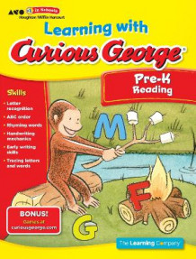 Learning with Curious George Preschool Reading (Heftet)