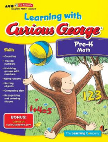 Learning with Curious George Preschool Math av The Learning Company (Heftet)