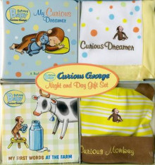 Curious Baby Curious George Night and Day Gift Set av H A Rey (Blandet mediaprodukt)