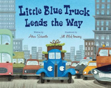 Little Blue Truck Leads the Way Big Book av Alice Schertle (Heftet)