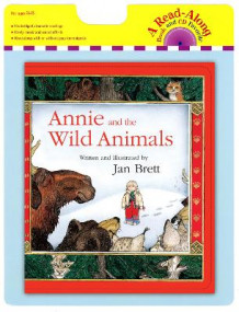 Annie and the Wild Animals Board Book av Jan Brett (Blandet mediaprodukt)