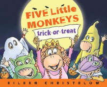 Five Little Monkeys Trick-or-Treat av Eileen Christelow (Innbundet)
