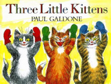 Three Little Kittens av Paul Galdone (Heftet)