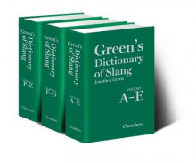 Green's Dictionary of Slang av Jonathon Green (Innbundet)