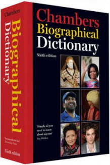 Chambers Biographical Dictionary (Innbundet)