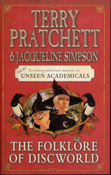 The folklore of Discworld av Terry Pratchett og Jacqueline Simpson (Heftet)