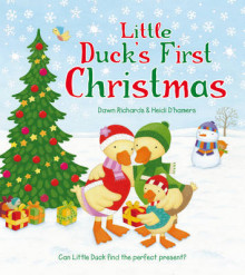 Little Duck's First Christmas av Dawn Richards (Heftet)
