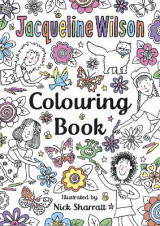 Omslag - The Jacqueline Wilson Colouring Book
