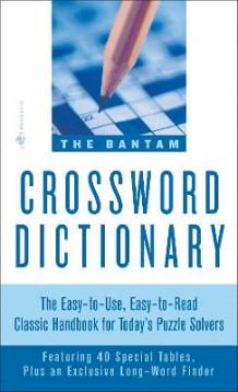 Bantam Crossword Dictionary av Walter D. Glanze og Jerome Fried (Heftet)