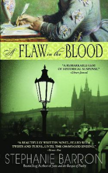 A Flaw in the Blood av Stephanie Barron (Heftet)