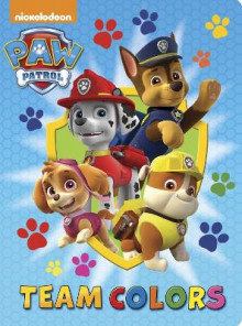 Team Colors (Paw Patrol) av Random House (Pappbok)
