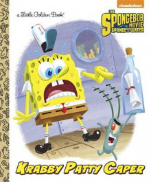 Krabby Patty Caper av Golden Books (Innbundet)
