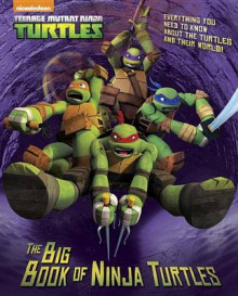 The Big Book of Ninja Turtles av Golden Books (Innbundet)