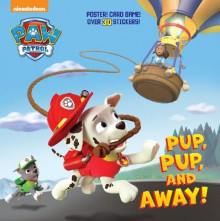 Pup, Pup, and Away! (Paw Patrol) av Random House (Heftet)