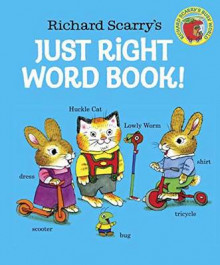 Richard Scarry's Just Right Word Book av Richard Scarry (Pappbok)