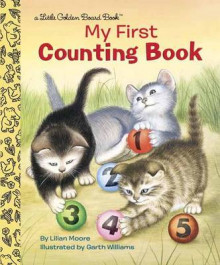 My First Counting Book av Lillian Moore og Garth Williams (Pappbok)