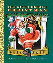 The Night Before Christmas Board Book av Clement C. Moore (Kartonert)