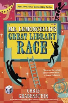 Mr. Lemoncello's Great Library Race av Chris Grabenstein (Innbundet)