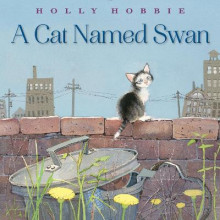 A Cat Named Swan av Holly Hobbie (Innbundet)