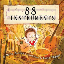 88 Instruments av Chris Barton og Louis Thomas (Innbundet)