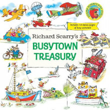 Richard Scarry's Busytown Treasury av Richard Scarry (Innbundet)