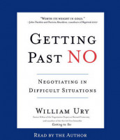 Getting Past No av William Ury (Lydbok-CD)