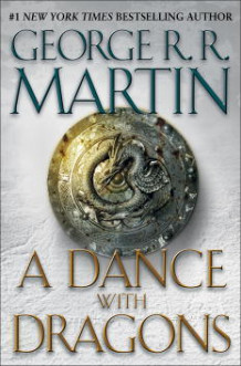 A dance with dragons av George R.R. Martin (Innbundet)