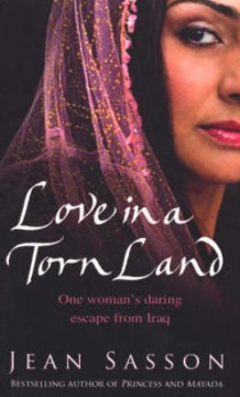 Love in a torn land av Jean Sasson (Heftet)