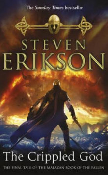 The crippled god av Steven Erikson (Heftet)
