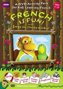 French is Fun with Serge, the Cheeky Monkey! av Sue Finnie (Blandet mediaprodukt)