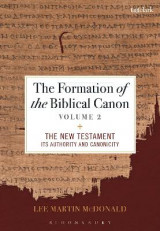 Omslag - The Formation of the Biblical Canon: Volume 2