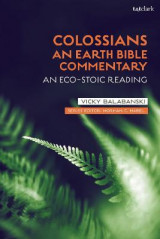 Omslag - Colossians: An Earth Bible Commentary