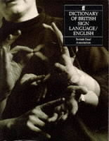 Dictionary of British Sign Language (Heftet)