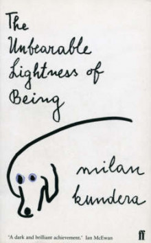 The unbearable lightness of being av Milan Kundera (Heftet)