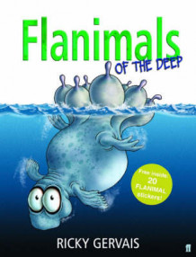 Flanimals of the Deep av Ricky Gervais (Innbundet)