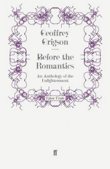 Before the Romantics av Geoffrey Grigson (Heftet)