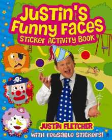 Justin's Funny Faces Sticker Activity Book av Justin Fletcher (Heftet)
