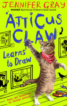 Atticus Claw Learns to Draw: Bk. 5 av Jennifer Gray (Heftet)