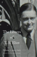 Omslag - The Letters of T. S. Eliot: 1934-1935 Volume 7