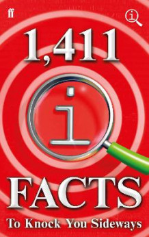 1,411 QI Facts To Knock You Sideways av John Lloyd, John Mitchinson og James Harkin (Innbundet)