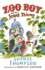 Omslag - Zoo Boy and the Jewel Thieves: No. 2