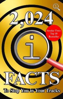 2,024 QI Facts To Stop You In Your Tracks av John Lloyd, James Harkin og Anne Miller (Innbundet)