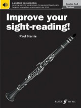 Omslag - Improve your sight-reading! Clarinet Grades 6-8